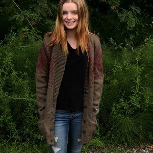 The North Face Jacquardigan Cardigan Sweater